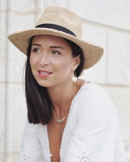 Tendance collier femme chaîne et pendentif plaqué or - Bijoux de créateur - Madame Vedette
