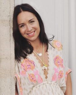 Tendance collier femme argent 925 pendentif demi lune - Création de bijoux - Madame Vedette