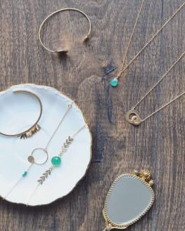 Collection de bijoux en plaqué or pour femme par Madame Vedette