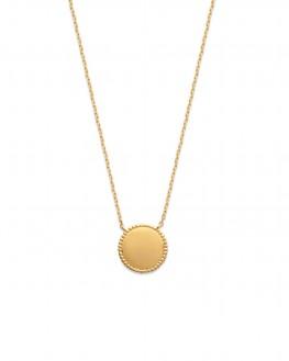 Collier femme avec pendentif en plaqué or garanti - Bijoux fantaisies de créateur - Madame Vedette