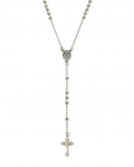 Collier chaîne sautoir Y pour femme en argent 925 - Bijoux fantaisies de créateur - Madame Vedette