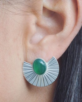 Création boucles d'oreilles femme argent 925 - Bijoux fantaisie créateurs x Madame Vedette