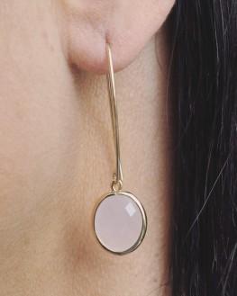 Création boucles d'oreilles dormeuses plaqué or - Bijouterie fantaisie femme x Madame Vedette