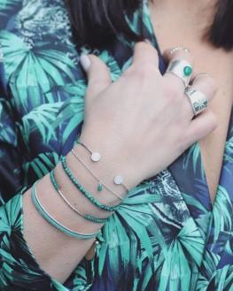 Création bracelet fin en argent pour femme - Bijoux fantaisie de qualité - Madame Vedette
