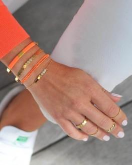 Bracelet fin plaqué or pour femme - Madame Vedette, bijoux fantaisie tendances
