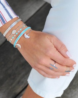 Bracelet argent 925 médaille madone - Madame Vedette, bijoux fantaisie tendance
