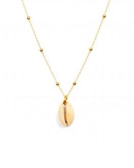 Sautoir chaîne plaqué or pour femme pendentif tendance - Madame Vedette, bijoux haute fantaisie