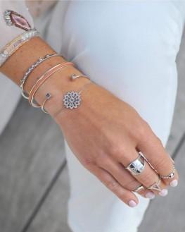 Bracelet fin en argent 925 pour femme - Bijoux fantaisie tendances - Madame Vedette