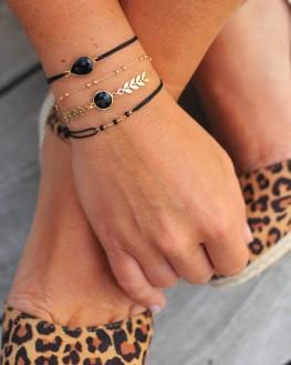 Bracelet fin plaqué or 18k pour femme - Bijoux tendances de créateurs - Madame Vedette