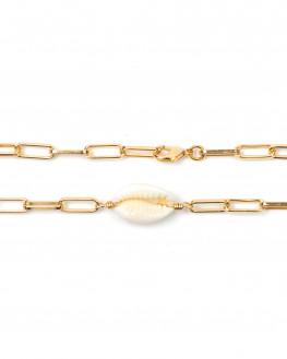 Bracelet maillons tendance pour femme - Bijoux plaqué or Atelier Madame Vedette