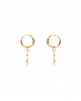 Boucles d'oreilles fines tendances plaqué or - Atelier bijoux Madame Vedette