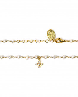 Bracelet femme création plaqué or tendance 2021 - Atelier bijoux Madame Vedette