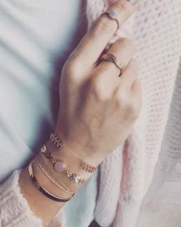 Bague tendance pour femme - Bijoux plaqué or de créateurs - Madame Vedette