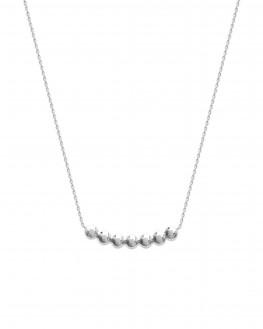 Collier chaîne argent 925 pendentif boules - Bijoux tendances créateur Instagram - Madame Vedette