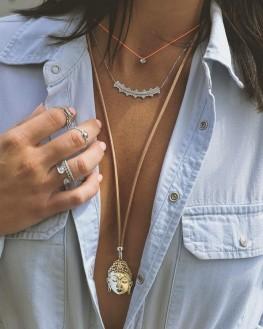 Collier chaîne argent 925 top tendance Instagram - Bijoux créateur Paris - Madame Vedette