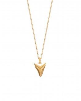 Collier chaîne pendentif plaqué or - Bijoux de créateur à offrir - Madame Vedette