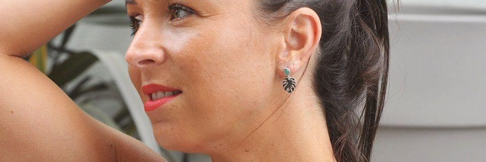 Boucles d'oreilles en argent pour femme | Madame Vedette
