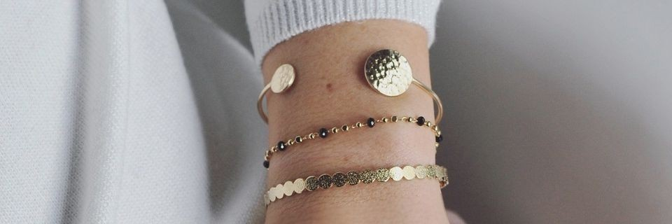 Bracelet plaqué or pour femme | Madame Vedette