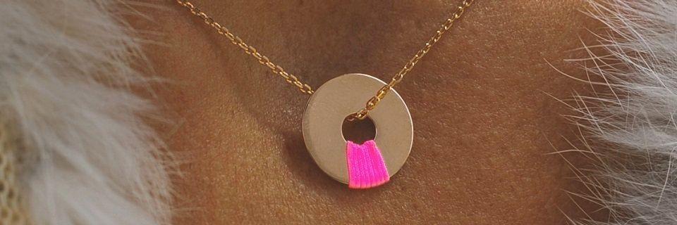 Colliers en plaqué or rose pour femme | Madame Vedette