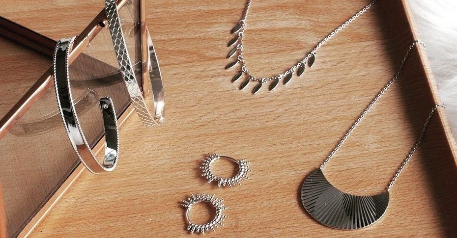 Collection de petits bijoux créateur pour femme en argent 925 | Madame Vedette